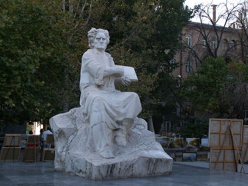 Monument to Martiros Saryan
